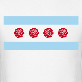 Design ~ DRose Chicago flag Shirt