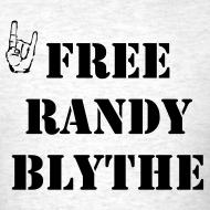 Design ~ Free Randy Blythe T-Shirt