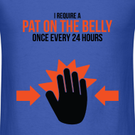 Design ~ Mens Tee: Belly Pat