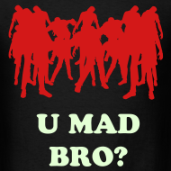 Design ~ Mens Zombies U Mad?