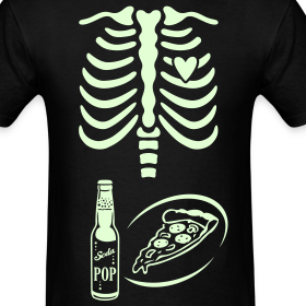 Design ~ Dad to Be Skeleton Tee with