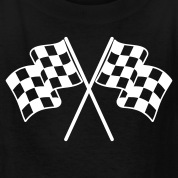 Checkered Flags Kids' Shirts