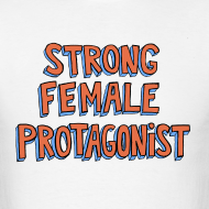 Design ~ Strong Female Protagonist Men's Tee