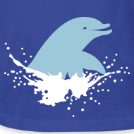 Design ~ Dolphin Splash w Clifford on sleeve