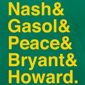 Design ~ Los Angeles Lakers 12-13