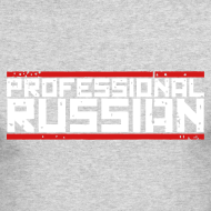 Design ~ Long Sleeve Tee : Pro Russian