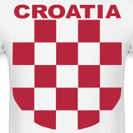 Design ~ Croatia Hrvatska the real Sahovnica Shirt