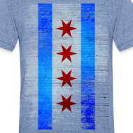 Design ~ Chicago Flag Faded