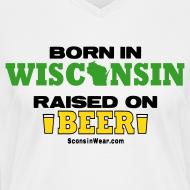 Design ~ Born in Wisconsin (Digital Print)