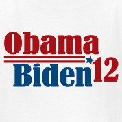 Re-Elect Obama Biden 2012 Kids' Shirts