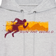 Design ~ Run the world hoodie