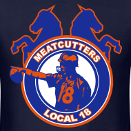 Design ~ Meatcutters Local 18 - Navy - Mens