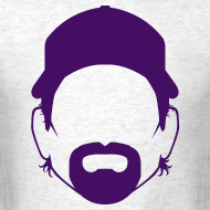 Design ~ The Toddfather Headshot - Purple - Mens