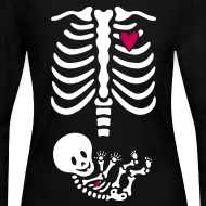 Design ~ Skeleton Maternity Costume (non maternity shirt)