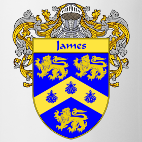 Family Shield Crest Designs http://415197.spreadshirt.com/james-coat-of-arms-family-crest-A11093829