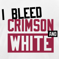 Design ~  I Bleed Crimson And White