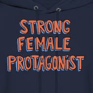 Design ~ Strong Female Protagonist Unisex Hoodie