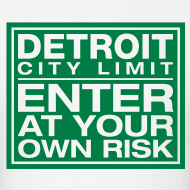 Design ~ Detroit Risk Mens Tee