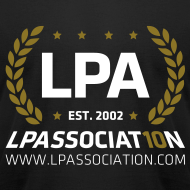 Design ~ LPA Limited Edition 10th Anniversary Shirt (Black)