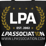 Design ~ LPA 10th Anniversary Tote Bag (Black)