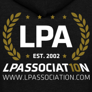 Design ~ LPA 10th Anniversary Zipper Hoodie (Black)