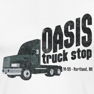 Oasis Truck Stop Hartland m-59 - Baseball T-Shirt