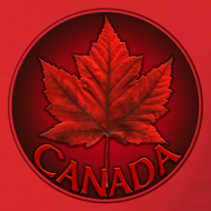 Design ~ Canada Maple Leaf Souvenir Men's T- Shirt