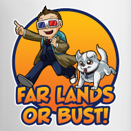 Design ~ Far Lands or Bust Coffee Mug