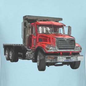 Truck Flatbed Designs http://433694.spreadshirt.com/flatbed-truck-red-A11483180