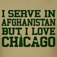 Design ~ Serve Afghanistan Love Chicago