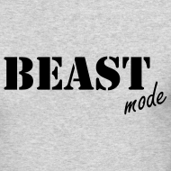 Design ~ beast mode long sleeve t