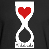 Design ~ WikiLeaks Heart Hourglass