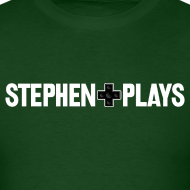 Design ~ StephenPlays Logo - White (Men's)