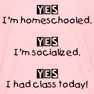Design ~ Yes! I'm homeschooled.