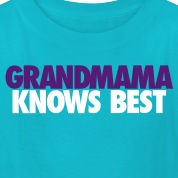 KIDS GRANDMAMA KNOWS BEST LJ2