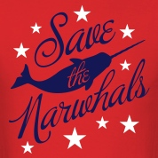 Save the Narwhals! T-Shirts