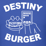 Design ~ Destiny Burger - White (Men's)