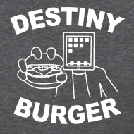 Design ~ Destiny Burger - White (Women's)