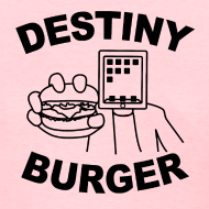 Design ~ Destiny Burger - Black (Women's)