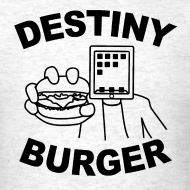 Design ~ Destiny Burger - Black (Men's)