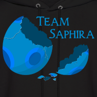 Design ~ Team Saphira! Unisex Hoodie (Hooded Sweatshirt)