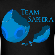 Design ~ Team Saphira! Men's T-shirt