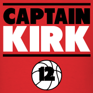 Design ~ Bulls Captain Kirk Shirt