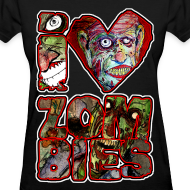 Design ~ womens - love zombies square