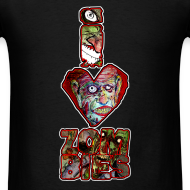 Design ~ mens - love zombies vert