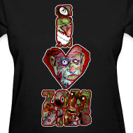 Design ~ womens - love zombies vert
