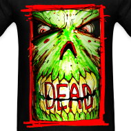 Design ~ mens - dead zombie face