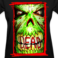 Design ~ womens - dead zombie face