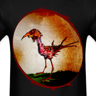 Design ~ mens - zombie chicken