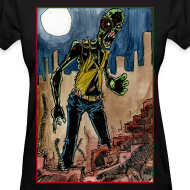 Design ~ womens - zombie in ruins